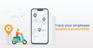 Track your employee location & productivity
